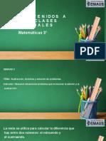 Matematicas 3°  S4 P2