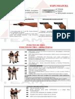 FUNDAMENTOS, NOMENCLATURA ARMAS CURTAS, INCIDENTES, MAC OU MCA E PANES