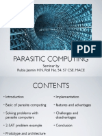 slides for parasite computing