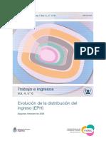 Distribución del ingreso 2°trim2020