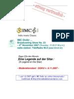 Moderation Script (11/2007)