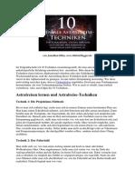 Jonathan Dilas 10 Geniale Techniken Fuer Astralreisen