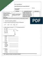 2ª EXAMEN  quimica vii - simulacro