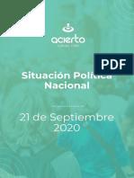 Informe Sondeo Imagen Alberto Fernandez 2020
