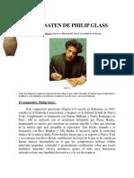 AKEHNATEN DE PHILIP GLASS