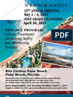 ARS 2011 Advence Program