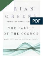 Brian Greene - O Tecido do Cosmos