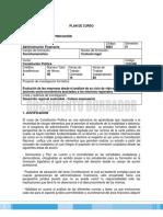 PLAN DE CURSO-CONSTITUCIÓN POLÍTICA.