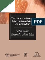 Textos escolares e interculturalidad en el Ecuador - Sebastian Granda