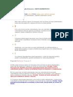 DIREITO ADMINISTRATIVO Caderno de erros e anotações QConcursos