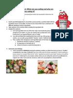 nutrition label ap project