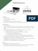 MANUAL DE ROTADOR ORBITAL DSR-2800D DIGISYSTEM