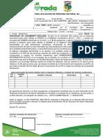 Declaración Jurada para afiliación de persona natural-IPS