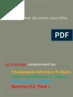 résumé microbio