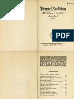 »Erinnerungen an Friedrich Nietzsche« von Franz Overbeck // S.Fischer Verlag, Berlin 1906.
