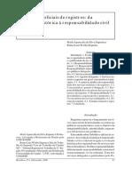 Tabeliães e oficiais de registros - da evolução histórica à responsabilidade civil e criminal - r148-02