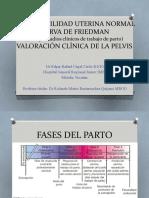 Contractilidad uterina normal, Curva de Freadman, Valoración clínica de Pelvis.pptx