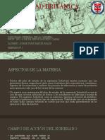 ASPECTOS DE LA MATERIA