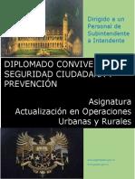 SI-IT. Diplomado Convivencia, Seguridad Ciudadana y Prevención