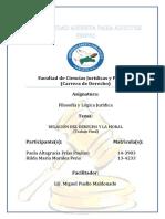 RELACIÓN DEL DERECHO Y LA MORAL (Trabajo Final)