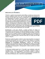 Manifesto dos Economistas Paranaenses