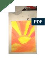 Artes Colores calidos y frios  taller #3 segundo periodo Marlon Pacheco curso 713