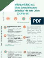 Hábitos Crisis COVID-19. El Prado Psicólogos