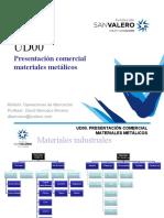UD00_PRESENTACION COMERCIAL MATERIALES METALICOS