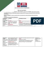 Actividad 2 - Digitando un plan de clases