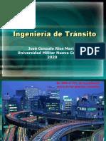 3. Ingeniería de Tránsito I - 2020