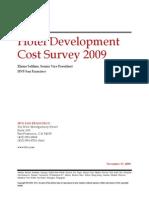 HVS - 2009 Hotel Development Cost Survey