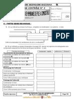 Devoir de Contrôle N°2 - Technologie unité de préparation de membrane de pile à cmbustible - Bac Technique (2011-2012) Mr ABDELLATIF HENI.pdf