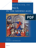A Companion to St. Paul in the Middle Ages - Cartwright, Steven R_