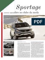 "Kia Sportage... in ""Jornal de Negócios"""