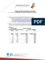 TALLER ESPECIALIZACIÓN MECÁNICA DE SUELOS