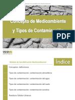 Conceptos Y Tipos De ContaminacióN