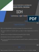 Transporte de Informacion SDH