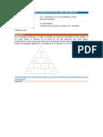 Problemas sobre sistema de ecuaciones lineales