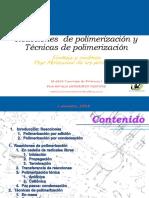 3.Reacciones y tecnicas de polimerización- I S 18