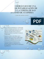 DISEÑO HIDRÁULICO DE UNA PLANTA DE POTABILIZACIÓN DE