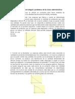 Aplicaciones del cálculo integral a problemas de las áreas administrativas