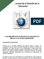 Tema 7. Discusión Actual de la Filosofía de la Educación(1)