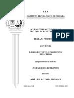 Manual Electronica III
