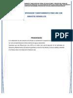 1012679590_Manual de Operacion y Mantenimiento UBS Arrastre Hidráhulico