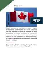 Historia de Canadá