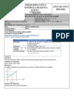 FISICA SEMANA 4 PROYECTO 1 MRU 3RO CC.docx