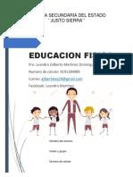 Eduacion Fisica Primer grado 1.pdf