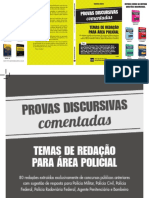 DEMO - TEMAS DE REDAÇÃO PARA ÁREA POLICIAL