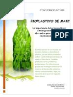 Revista - Bioplastico de Maiz