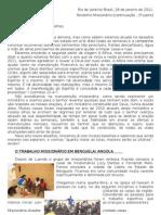 Relatório Janeiro - Angola 2 parte de 2011